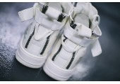 Кроссовки Nike SF Air Force 1 Utility Mid All White - Фото 10