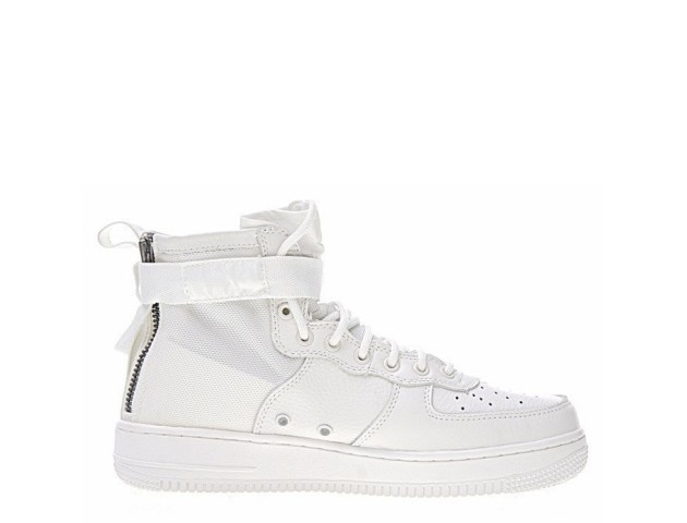 Кроссовки Nike SF Air Force 1 Utility Mid All White
