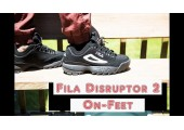 Кроссовки Fila Disruptor II Black/White - Фото 5
