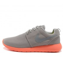 Кроссовки Nike Roshe Run Light Grey/Coral