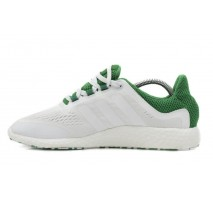 Кроссовки Adidas Pure Boost White/Green