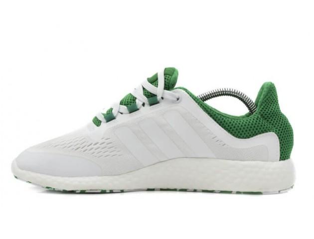 Кроссовки Adidas Pure Boost White/Green
