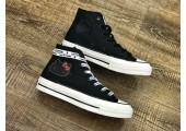 Кеды Converse x Hello Kitty 2.0 Black - Фото 2