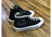 Кеды Converse x Hello Kitty 2.0 Black - Фото 4