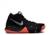 Баскетбольные кроссовки Nike Kyrie 4 Black Orange - Фото 1