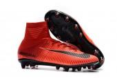 Футбольные бутсы Nike Mercurial Superfly V AG-Pro Bright Crimson/White/University Red - Фото 9
