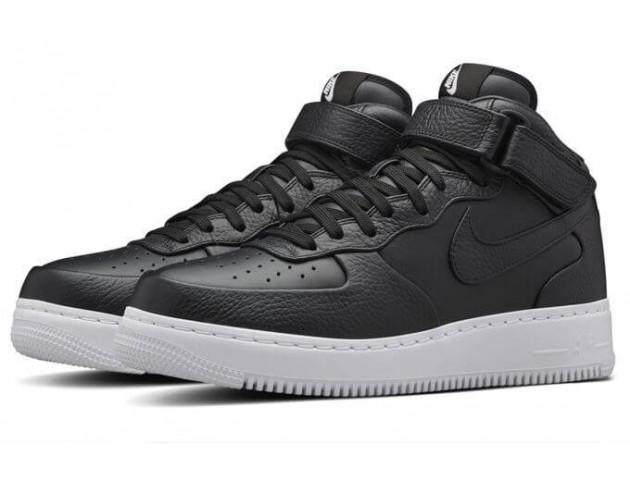 Кроссовки NikeLab Air Force 1 Mid CMFT Black