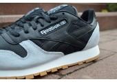 Кроссовки Reebok Classic Black/Cream - Фото 5