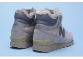 Кроссовки New Balance 696 Hight Winter Cream С МЕХОМ - Фото 3