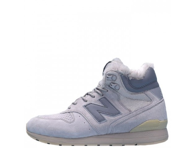 Кроссовки New Balance 696 Hight Winter Cream С МЕХОМ