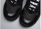 Кроссовки Balenciaga Triple-S Black - Фото 4