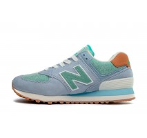 Кроссовки New Balance Buty 574 Beach Cruiser Pack Blue/Mint
