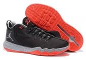 Баскетбольные кроссовки Jordan CP3.IX AE Black/Infrared - Фото 2