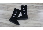 UGG Bailey Button Triplet Bling Black - Фото 8