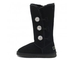 UGG Bailey Button Triplet Bling Black (Копия)