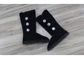 UGG Bailey Button Triplet Bling Black - Фото 5