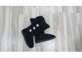 UGG Bailey Button Triplet Bling Black - Фото 3