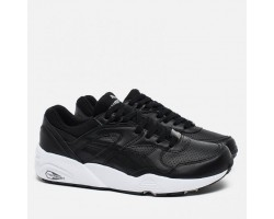 Кроссовки Puma R698 Core Leather Black