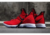 Баскетбольные кроссовки Nike LeBron 14 University Red - Фото 4