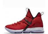 Баскетбольные кроссовки Nike LeBron 14 University Red - Фото 1