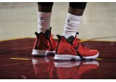 Баскетбольные кроссовки Nike LeBron 14 University Red - Фото 6