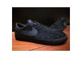 Кроссовки Nike SB Blazer Low Gt Black - Фото 9