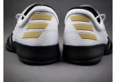 Кроссовки Adidas Harden Vol.1 Black Toe/White - Фото 6