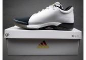 Кроссовки Adidas Harden Vol.1 Black Toe/White - Фото 2