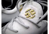 Кроссовки Adidas Harden Vol.1 Black Toe/White - Фото 8