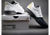 Кроссовки Adidas Harden Vol.1 Black Toe/White - Фото 5