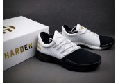 Кроссовки Adidas Harden Vol.1 Black Toe/White - Фото 4