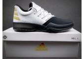 Кроссовки Adidas Harden Vol.1 Black Toe/White - Фото 10