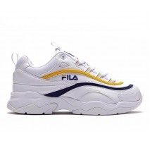 Кроссовки Fila Ray White/Yellow/Blue