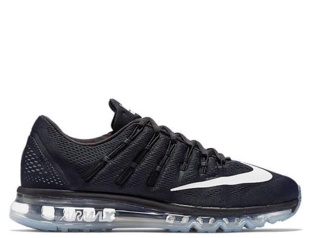 Кроссовки Nike Air Max 2016 Black/White-Reflect Silver