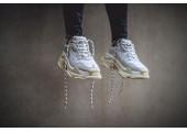 Кроссовки Balenciaga Triple-S White - Фото 10