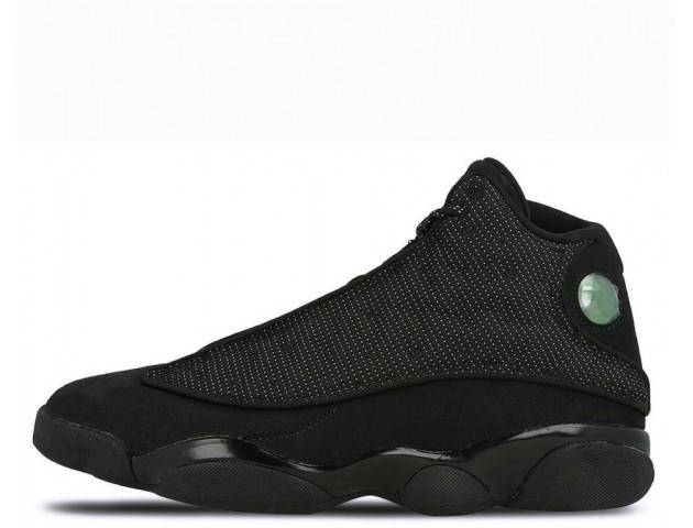 Баскетбольные кроссовки Air Jordan 13 Retro Black Cat
