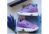 Кроссовки Fila Disruptor II Purple - Фото 8