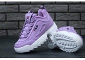 Кроссовки Fila Disruptor II Purple - Фото 6