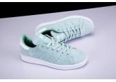 Кроссовки Adidas Stan Smith Azure - Фото 6