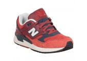 Кроссовки New Balance 530 Red/Grey - Фото 2