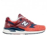 Кроссовки New Balance 530 Red/Grey - Фото 1