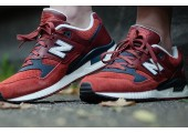 Кроссовки New Balance 530 Red/Grey - Фото 3