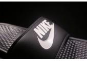 Шлепанцы Nike Classik Black/White - Фото 3
