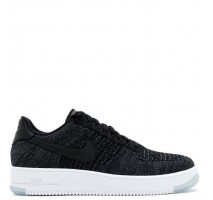 Кроссовки Nike Air Force 1 Ultra Flyknit Low Black