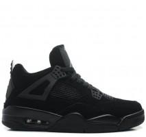 Баскетбольные кроссовки Air Jordan 4 Black Cat