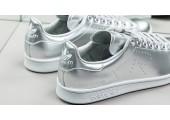 Кроссовки Raf Simons x Adidas Stan Smith Metallic Silver - Фото 3