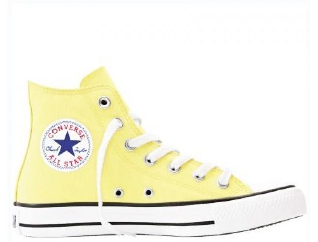 Кеды Converse Chuck Taylor All Star High Light Yellow