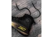 Баскетбольные кроссовки Under Armour Curry 4 Black/Yellow - Фото 5