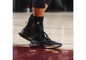 Баскетбольные кроссовки Under Armour Curry 4 Black/Yellow - Фото 9