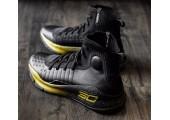 Баскетбольные кроссовки Under Armour Curry 4 Black/Yellow - Фото 7